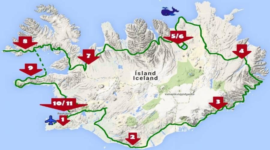 Itinerario Islanda 11 notti