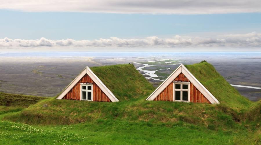 Tradizionale fattoria islandese