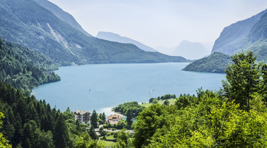 Vista del Lago di Molveno