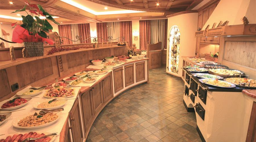 Buffet del ristorante