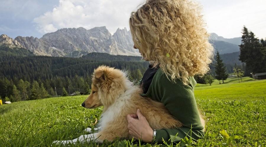 In montagna con lui