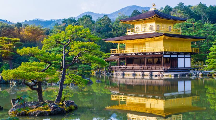 Il padiglione d'Oro a Kyoto