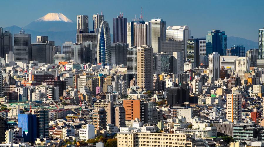 Tokyo, veduta