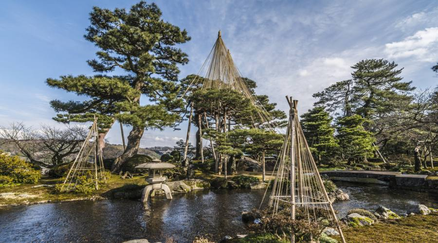 Kanazawa, i giardini Kenroku-en
