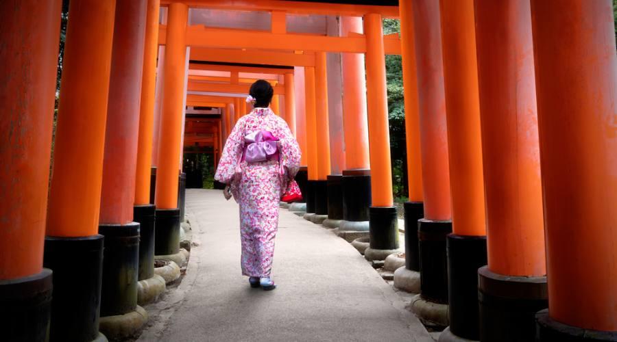 Il Santuario di Fushimi Inari a Kyoto