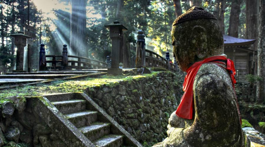 Monte Koya, raggiungibile da Kyoto