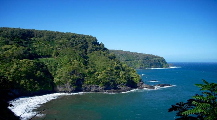 Looking back at the Road to Hana