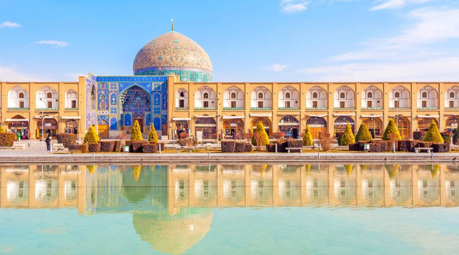 Isfahan: piazza dell'imam