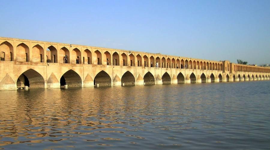 Isfahan: vista di un ponte