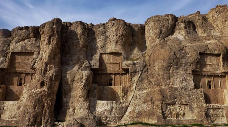 Persepoli: dettagli del sito archeologico