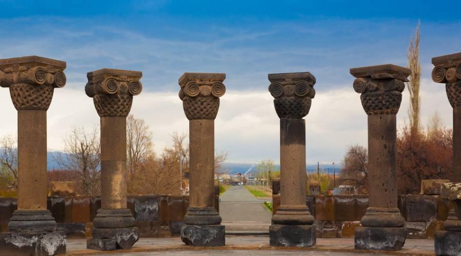 rovine di Zvartnos,Armenia