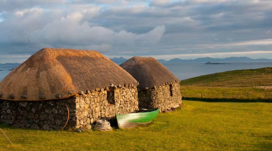 Case tradizionali scozzesi