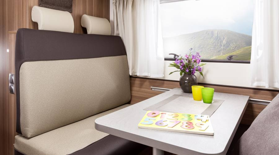 Camper Vista Plus interno