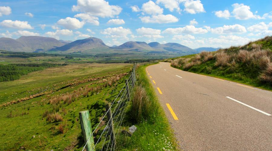 Strada nel ring of Kerry