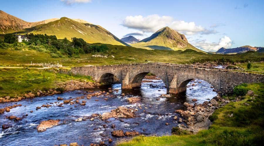 Vecchio ponte sull'Isola di Skye