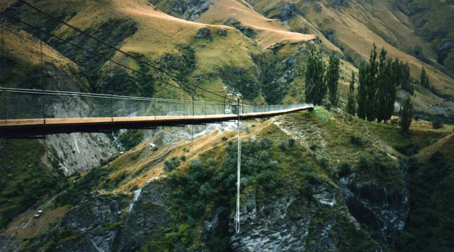 Kawarau Bridge Bungy Jump a Queenstown
