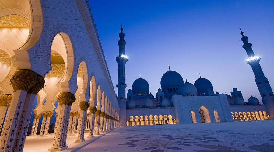 Gran Moschea Zayed Abu Dhabi