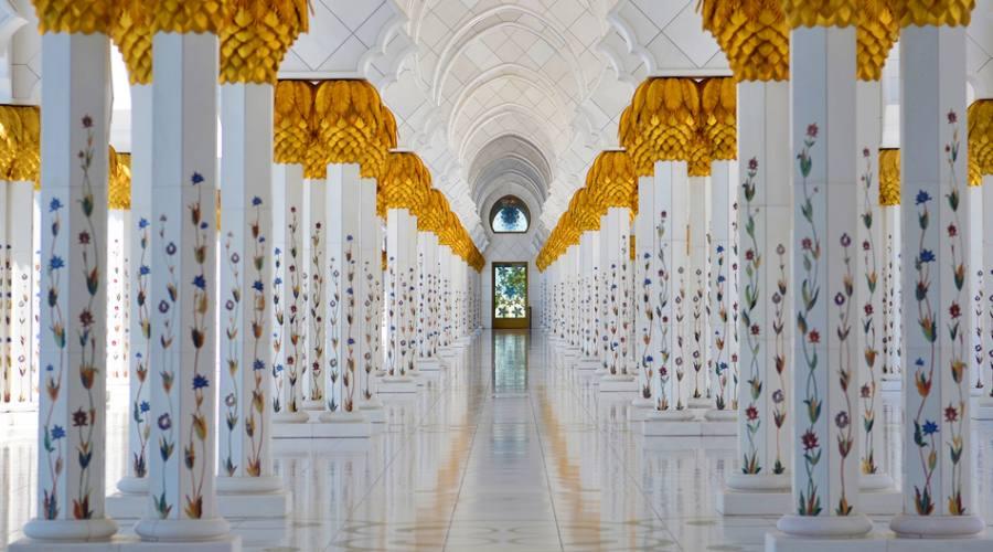 Grande Moschea Sheikh Zayed ad Abu Dhabi