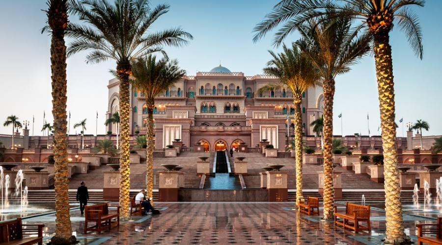 Emirates Palace a Abu Dhabi
