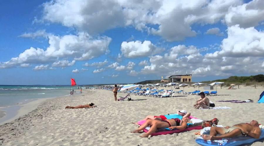 spiaggia son bou