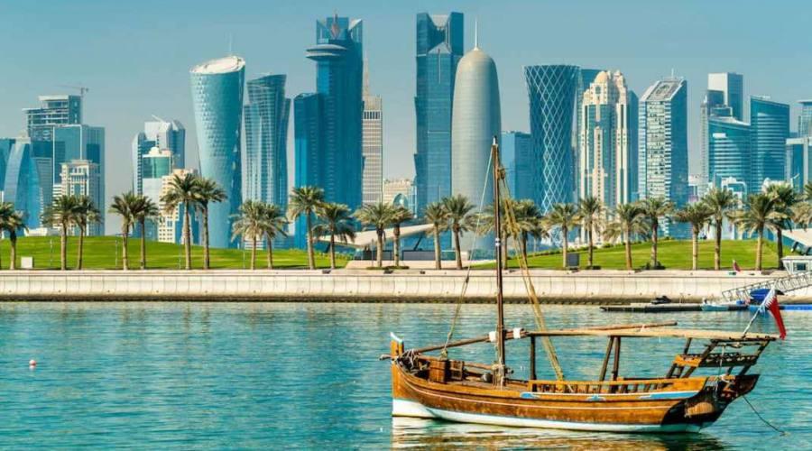 Skyline di Doha