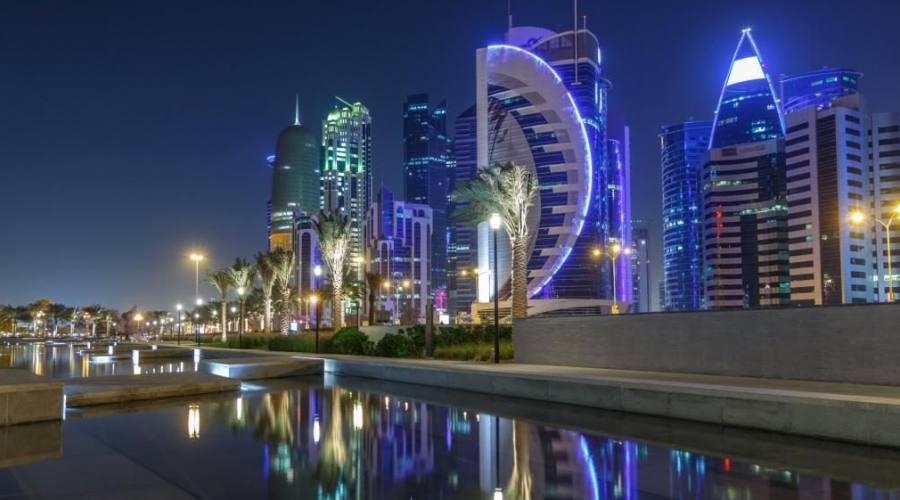 Doha panorama