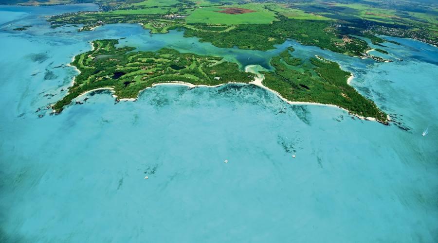 Vista dall'alto... Ile aux Cerfs