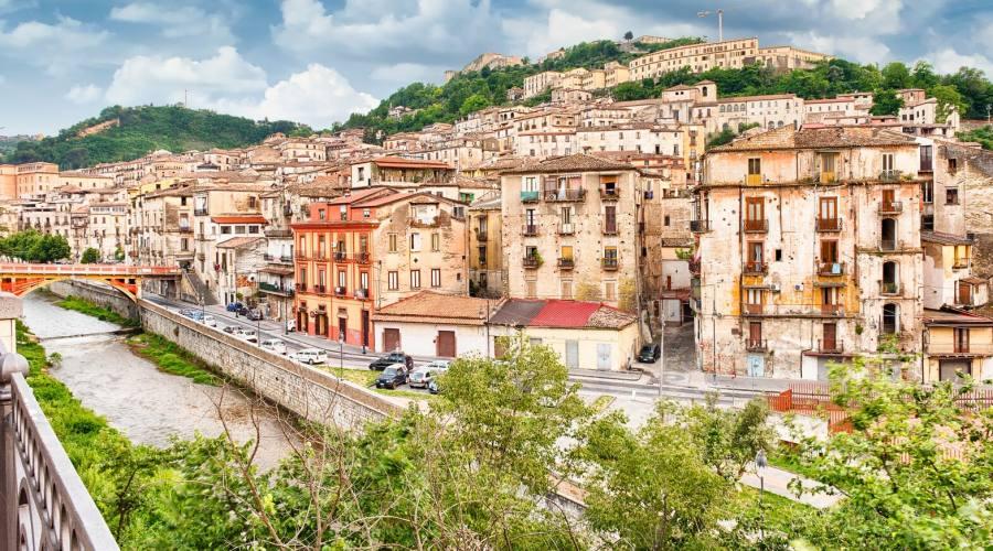 Vista aerea panoramica del centro storico