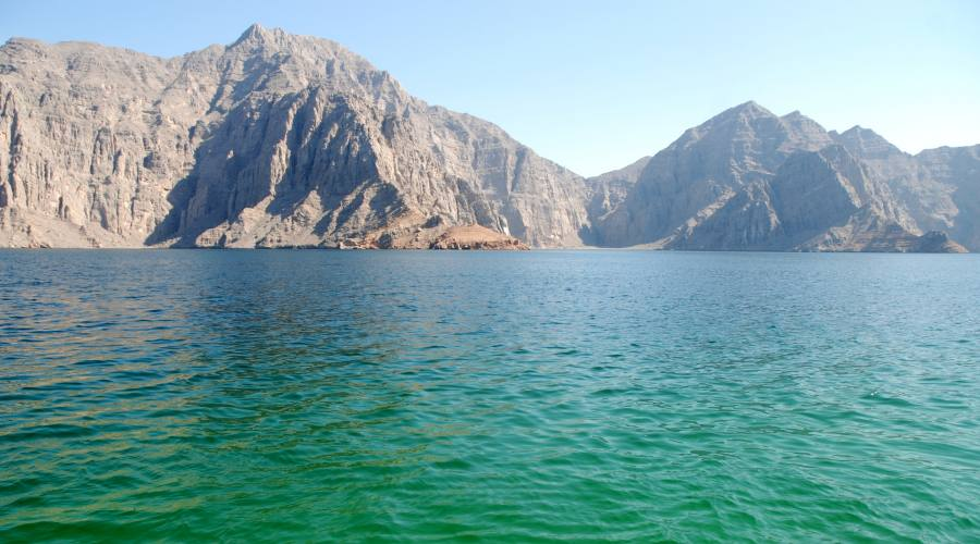 I colori delll'Oceano in Oman