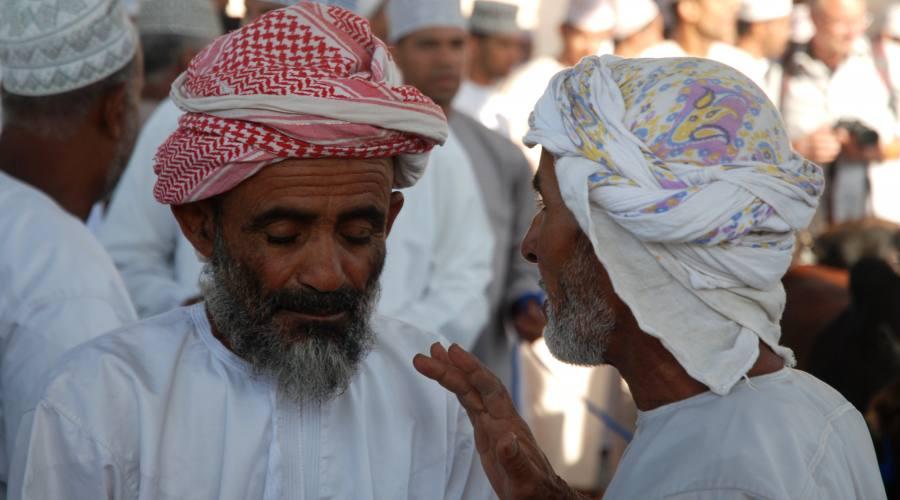 Due chiacchiere tra amici...a Nizwa souq