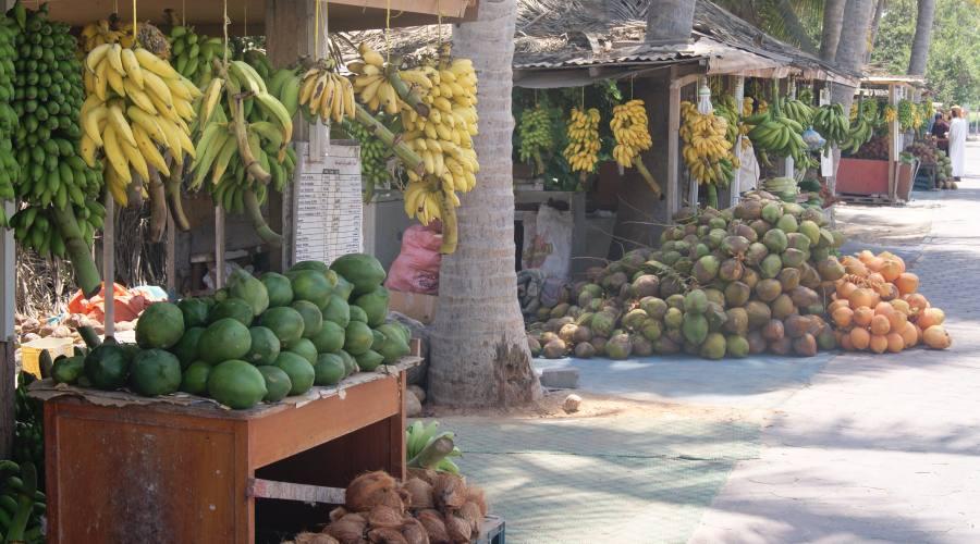 Il Mercato della frutta a Salalah