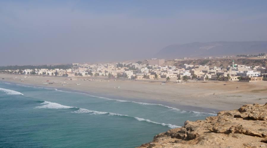 Spiaggia a  Salalah