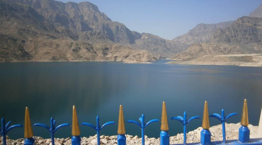 La diga - Oman Centrale