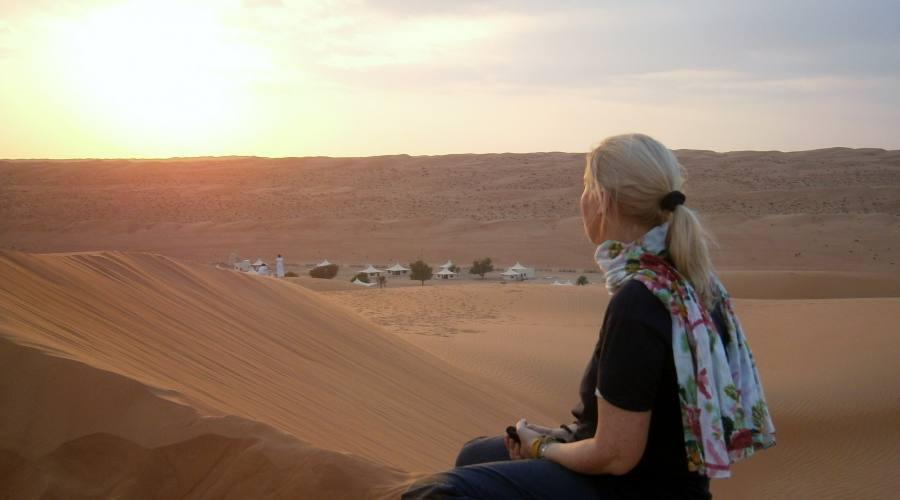 Dune a Wahiba Sands