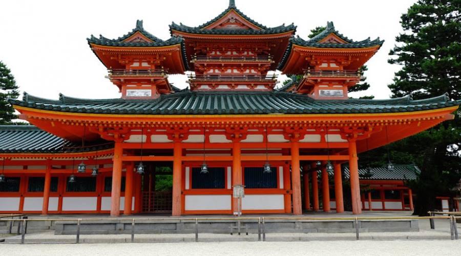 Kyoto - Tempio Heian-jingu