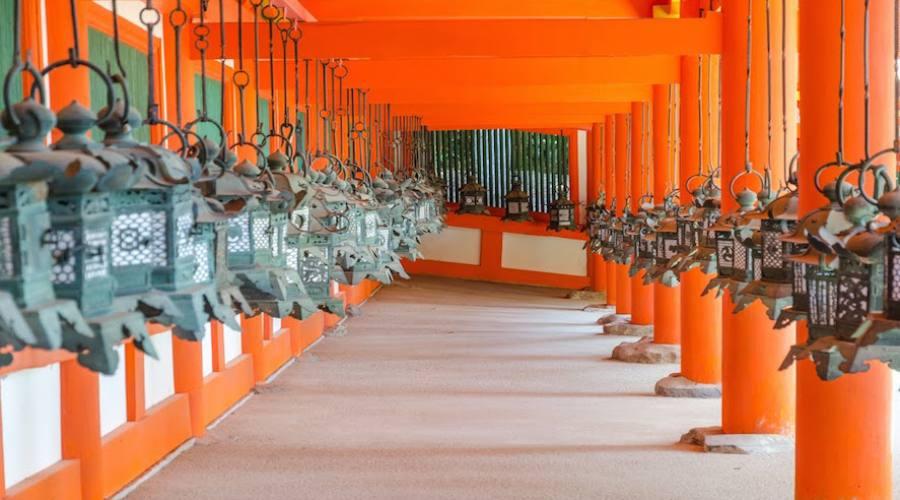 Nara - Tempio Kasuga delle lanterne