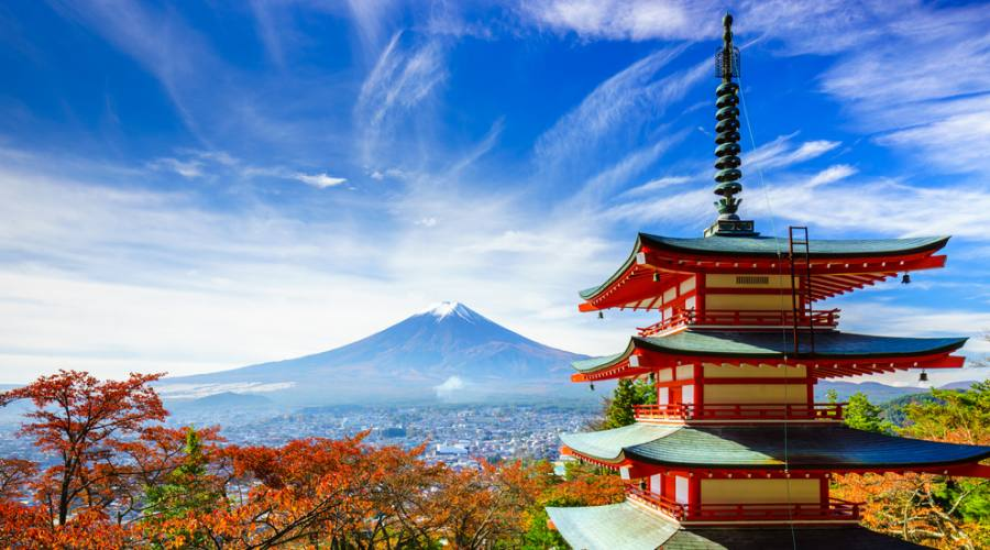 Il monte Fuji