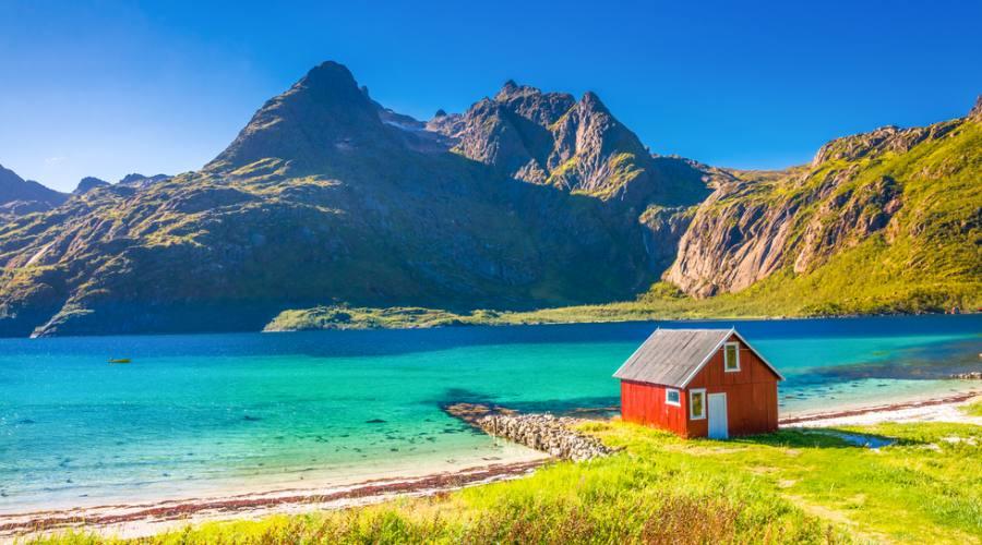 Paesaggi delle Isole Lofoten