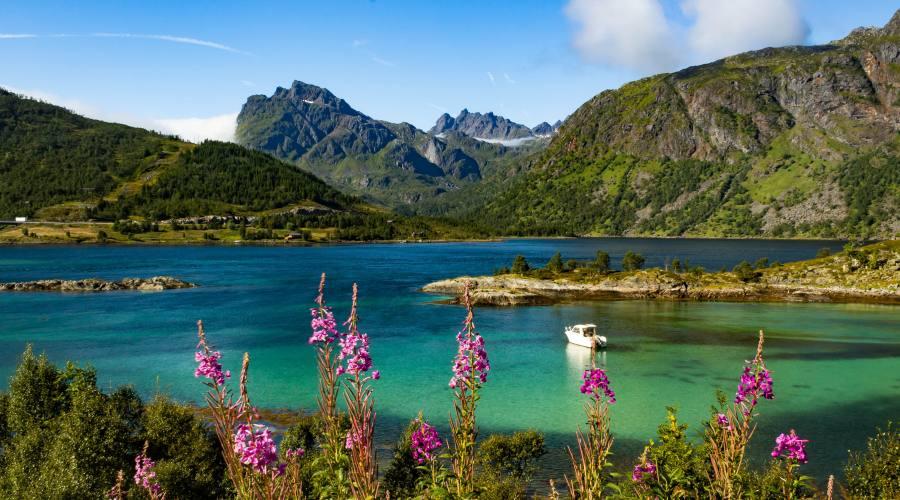 Paesaggi tra i fiordi