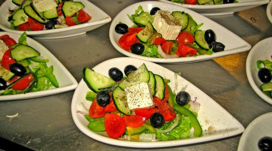 cena greca
