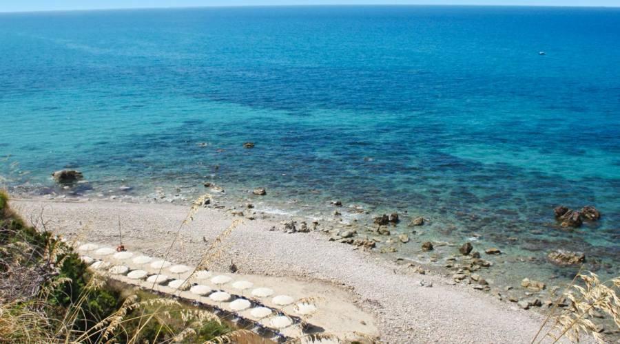 Spiaggia, Rosette Resort, Parghelia