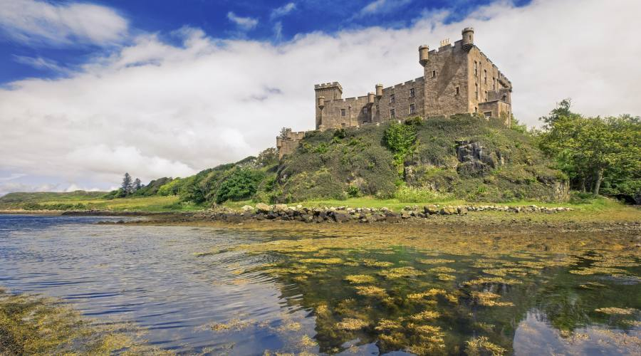 Castello di  Dunvegan sull'isola di Skye