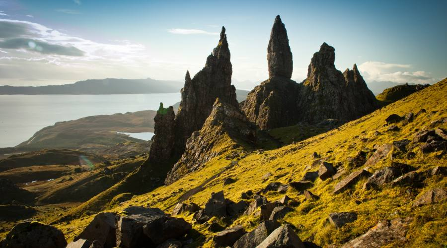 Old man of  Storr: Isola di Skye