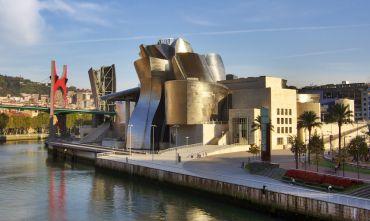 Soggiorno con vista Guggenheim