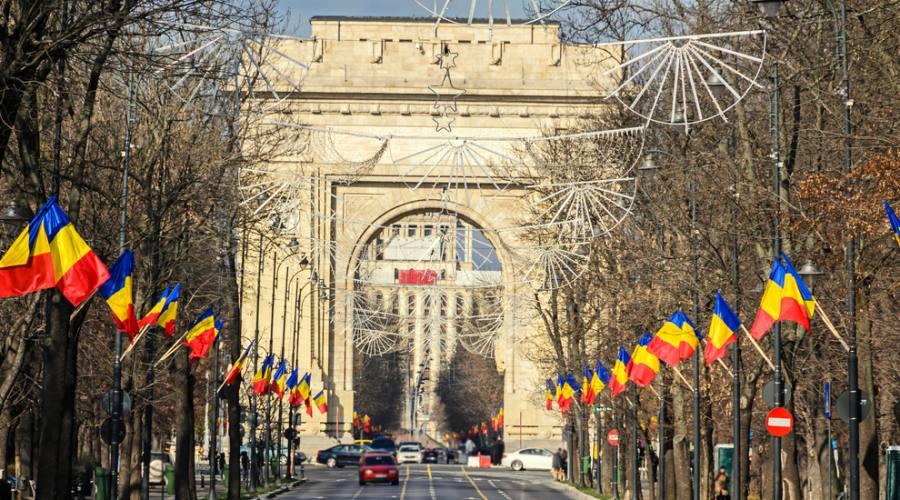 Bucarest, Arco di trionfo