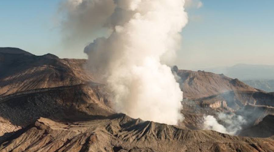 Vulcano attivo Usu