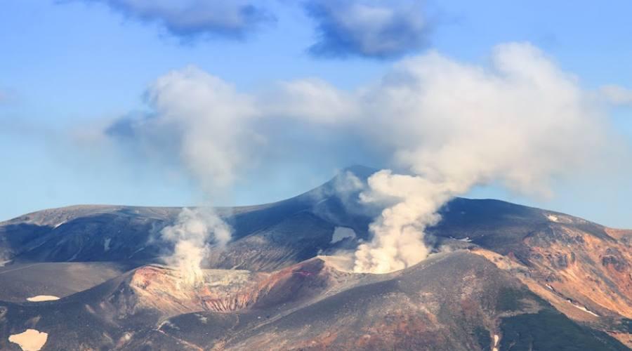 Vulcano attivo Komagatake