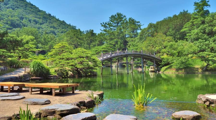 Giardini Ritsurin a Takamatsu