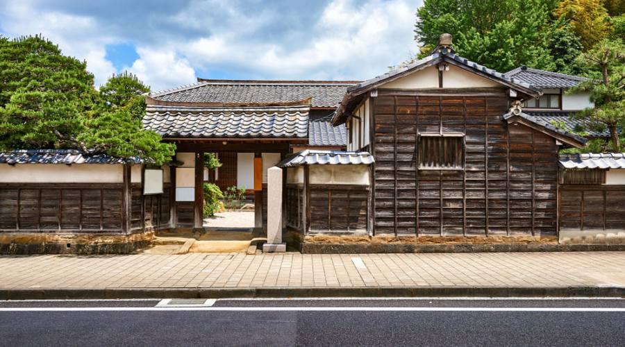La casa di un famoso samurai a Matsue