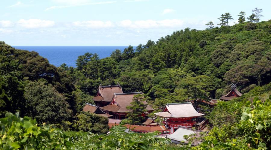 Santuario nella prefettura di Shimane